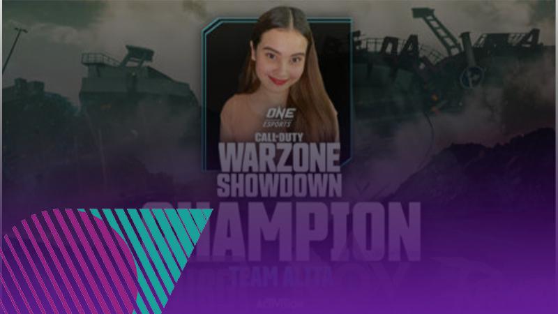 สรุปการแข่งขันเกม FPS ONE Esports Warzone Showdown แชมป์ Alita Zunic